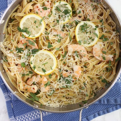 10-Minute Easy Shrimp Scampi