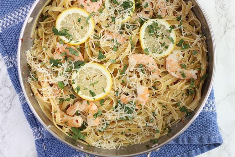 10-Minute Easy Shrimp Scampi