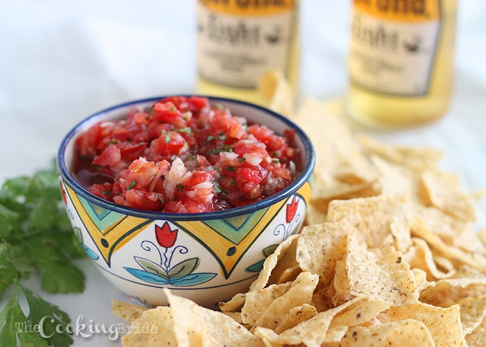 Garden Fresh Salsa - CookingBride.com