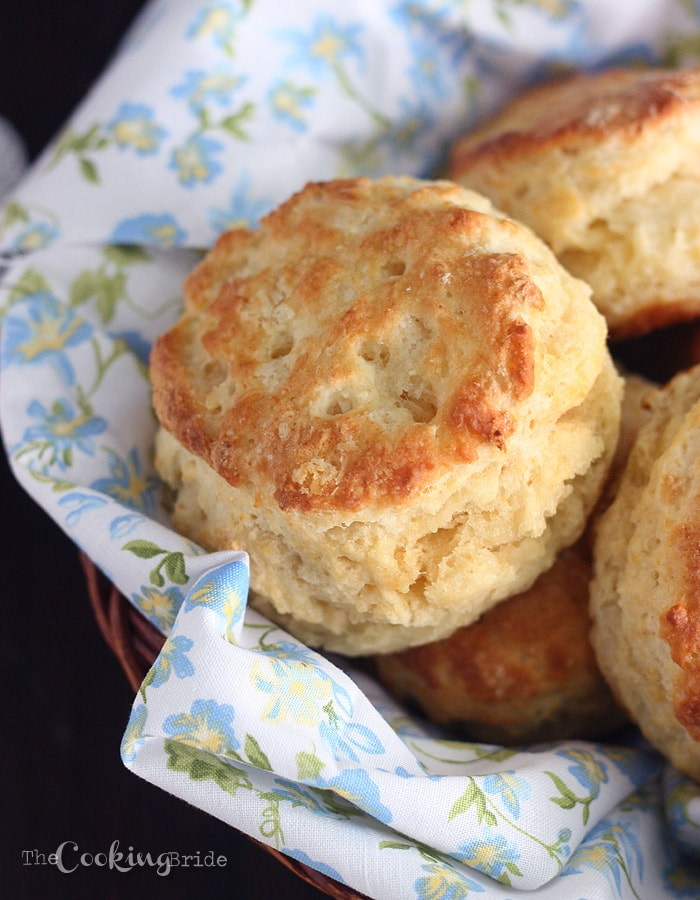 Buttermilk Biscuits - CookingBride.com