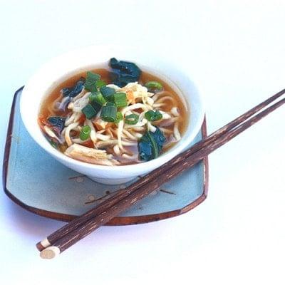 Miso Ramen Chicken Soup