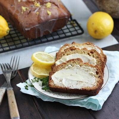 Thyme and Lemon Loaf Cake