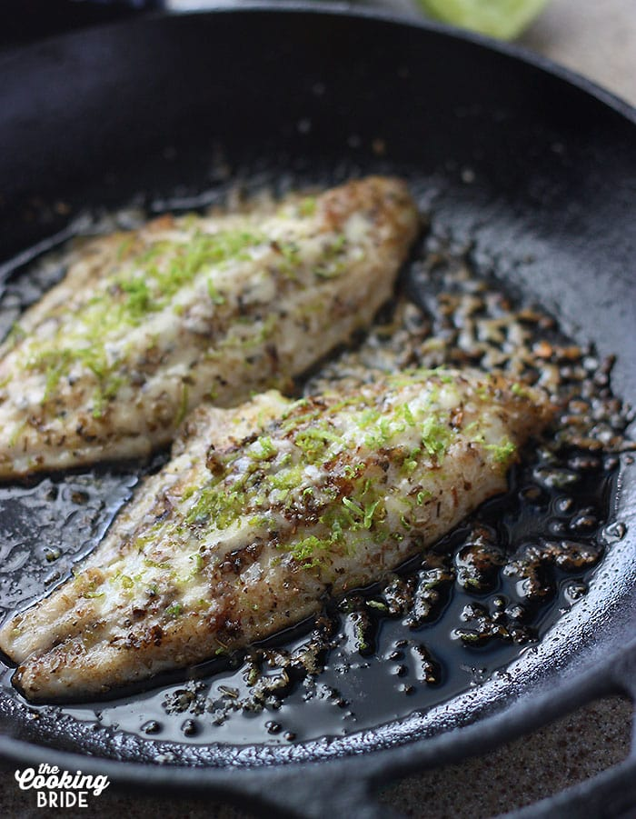 Looking for low carb dinner options? Try this skillet grilled catfish recipe that is full of flavor and easy enough for a weeknight meal.