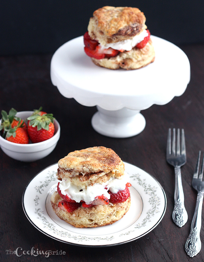 strawberry shortcake recipe from scratch