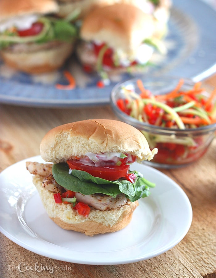 Baja Chicken Sliders | Juicy 4th Of July Chicken Recipes Perfect For Your BBQ Party | baking recipes