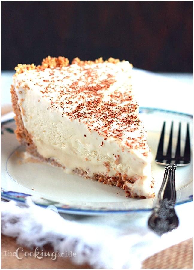 Frozen Brandy Alexander Pie - CookingBride.com