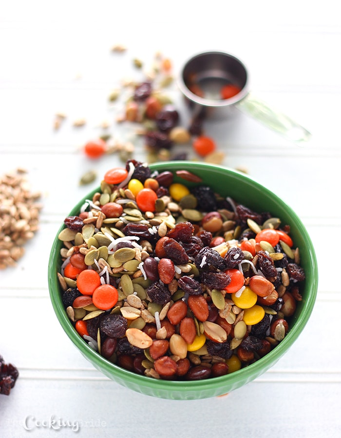 Autumn Snack Mix - CookingBride.com