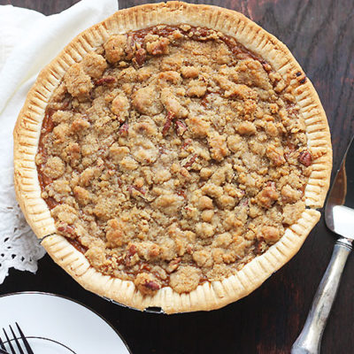 Praline Pecan Southern Sweet Potato Pie