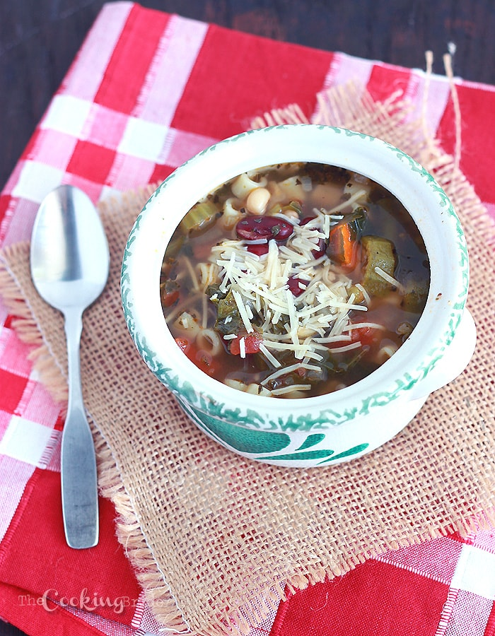 Mississippi Minestrone - CookingBride.com