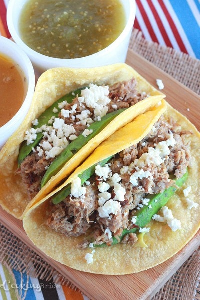 Pulled Pork Carnitas - CookingBride.com