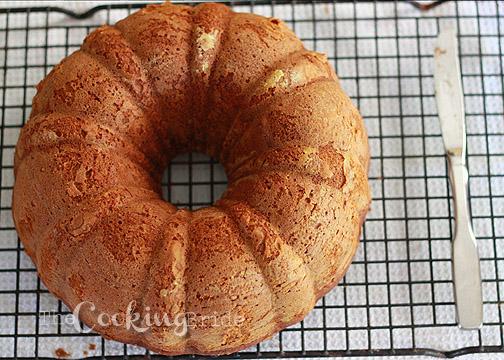 pumpkin pecan cake with bourbon glaze 004 WM