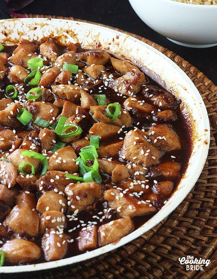 Bourbon Chicken Teriyaki
