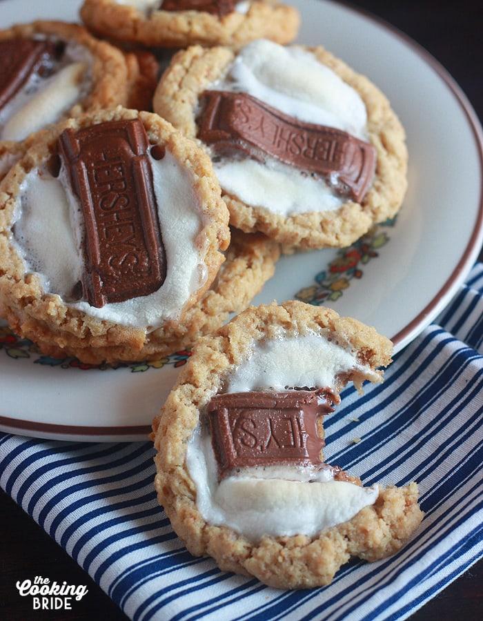S'mores Cookies - CookingBride.com