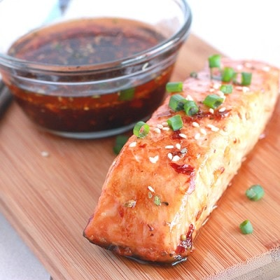 Chili Teriyaki Salmon
