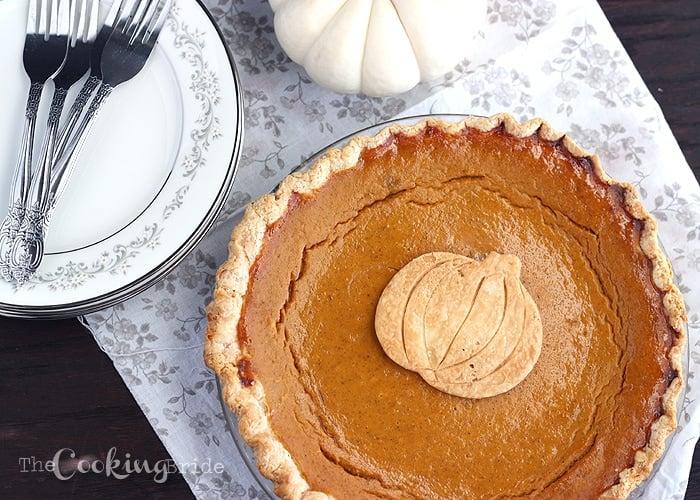 Pumpkin Pie - CookingBride.com