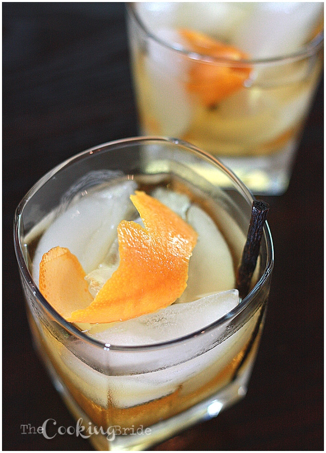 Vanilla Bean Old Fashioned - CookingBride.com