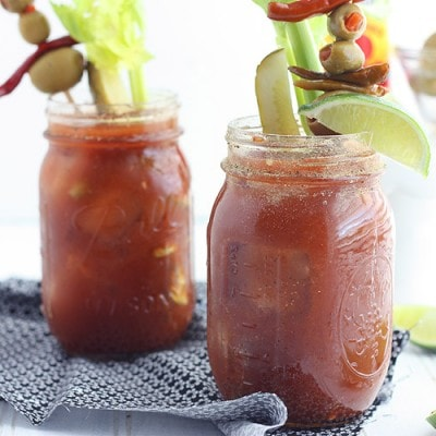 Bloody Mary Mix for a Crowd