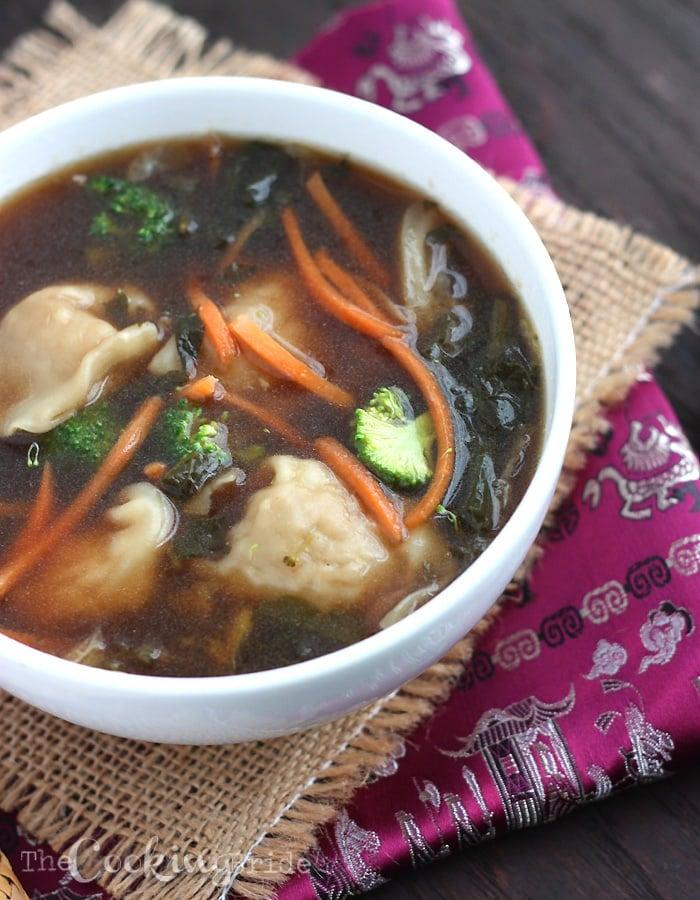 chicken wonton soup