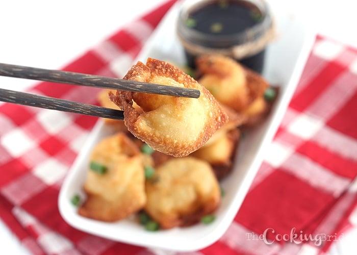 Crawfish Cream Cheese Wontons 090 WM