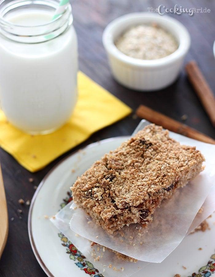Apple Cinnamon Cereal Bars 114 WM