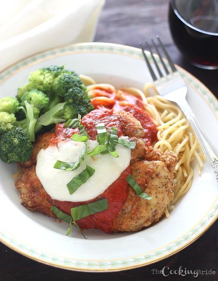 Chicken Parmesan - CookingBride.com