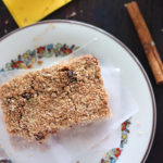 Apple Cinnamon Homemade Cereal Bars
