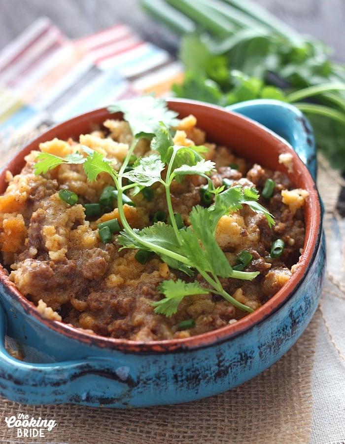 Slow Cooker Tamale Pie - CookingBride.com