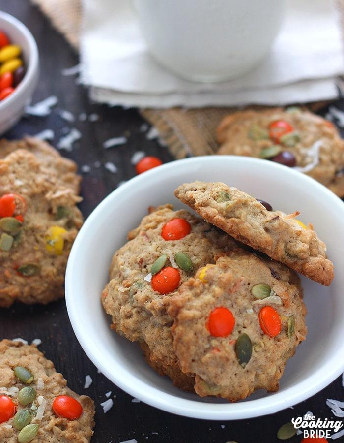 Trail Mix Cookies - CookingBride.com