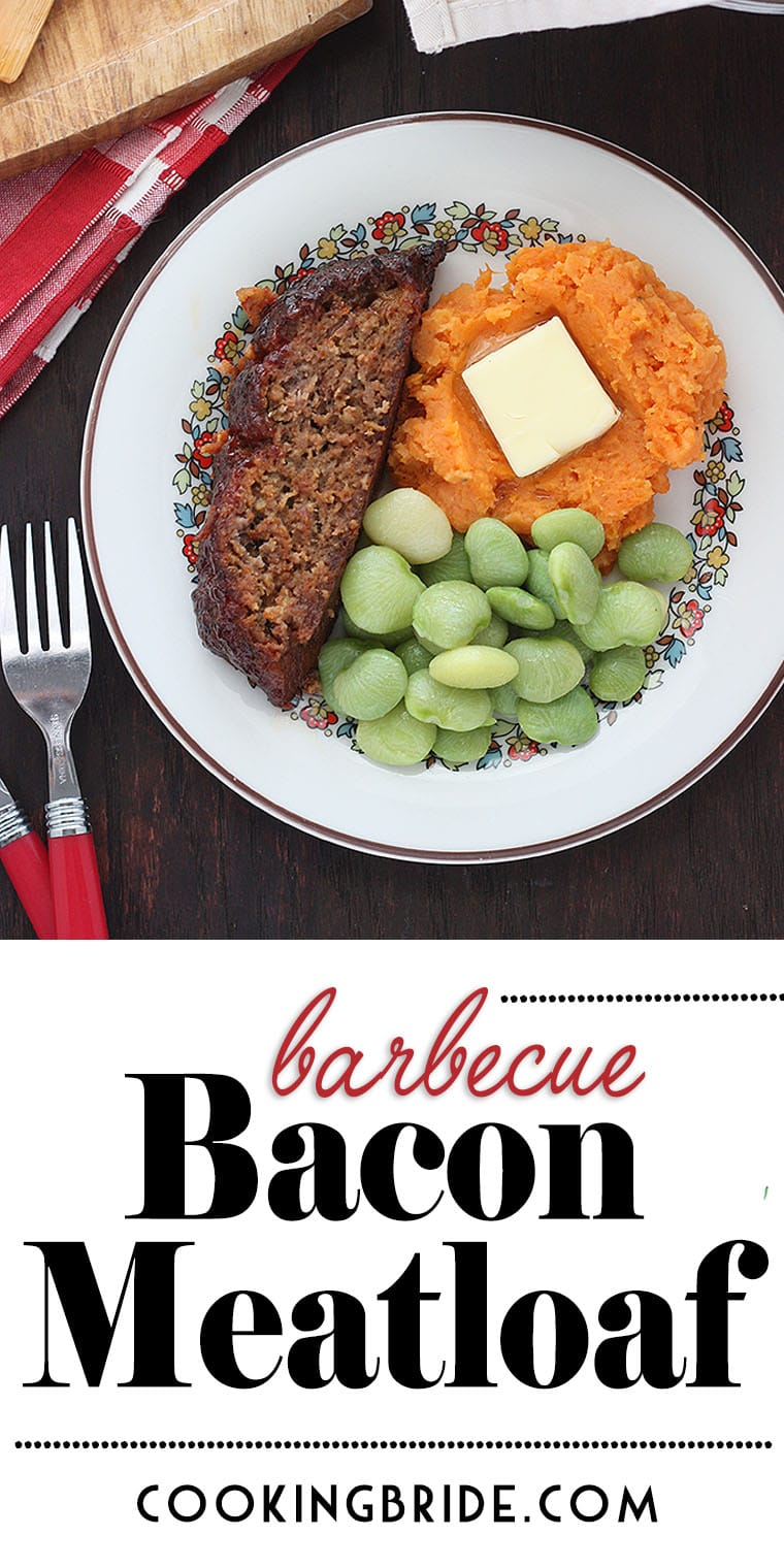Barbecue bacon meatloaf is one of the best meatloaf recipes you will ever try. Ground bacon and spices are blended to form a paste that's mixed right into ground beef. Top with your fave BBQ sauce.
