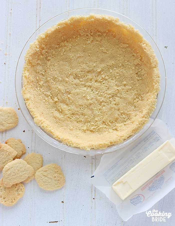 lime shortbread cookie crust