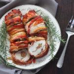 Bacon Wrapped Turkey Breast P