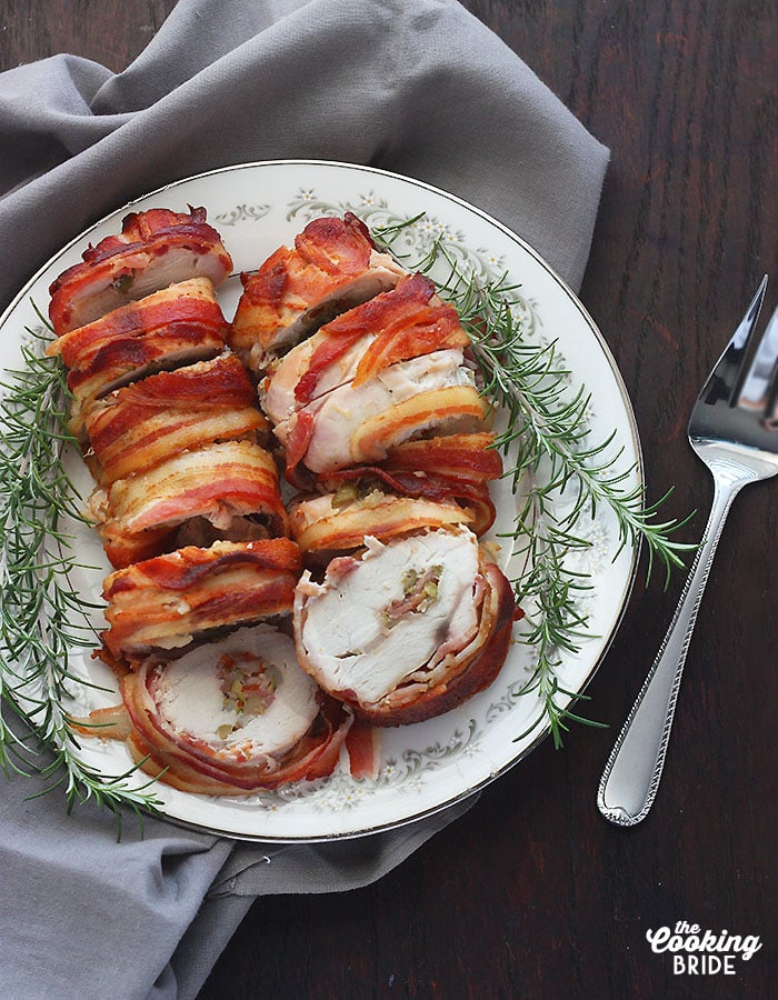 bacon wrapped turkey breast