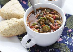 Pot Liquor Collard Greens Soup