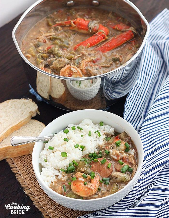Seafood Shrimp Gumbo