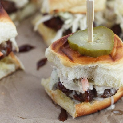 Barbecue Bacon Meatball Sliders