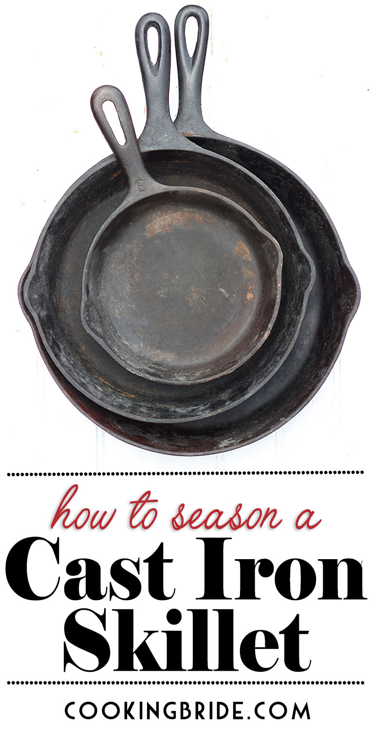 Is your cast iron skillet looking a little dull? Don't throw it out! Learn how to season a cast iron skillet and make it good as new.
