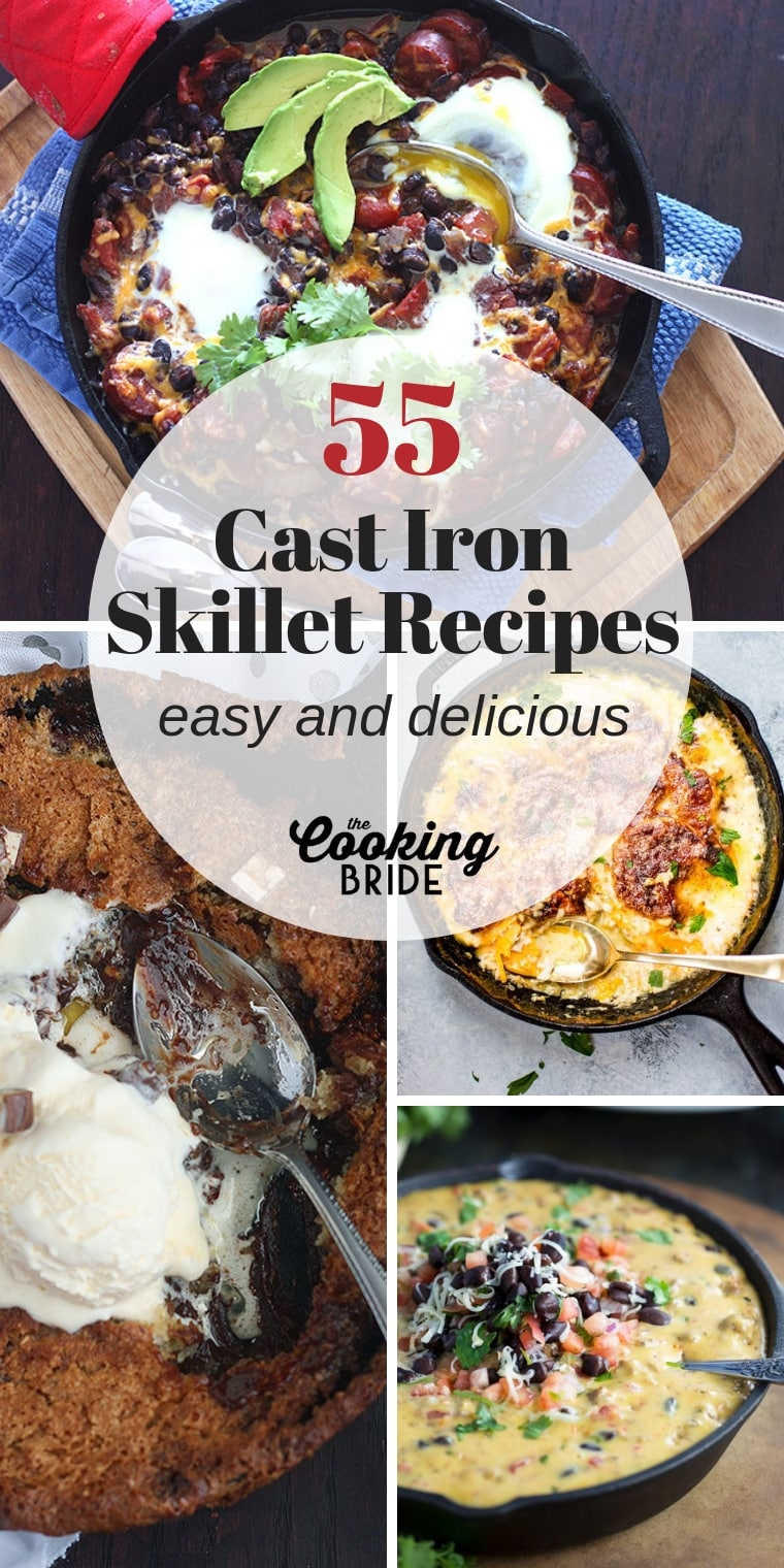 Looking to put your cast iron skillet to good use?You'll love these easy and delicious cast iron skillet recipes.