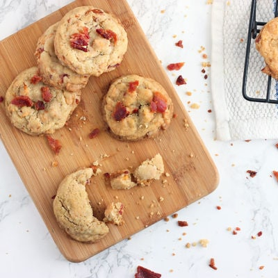Bacon and Butterscotch Cookies