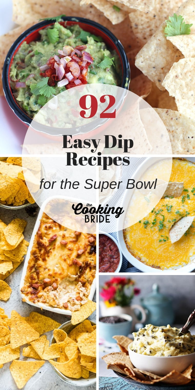 Don't let hunger sideline your team spirit. Stay in the game with these easy and tasty Super Bowl dip recipes.