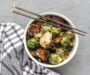 Stir Fried Brussels Sprouts